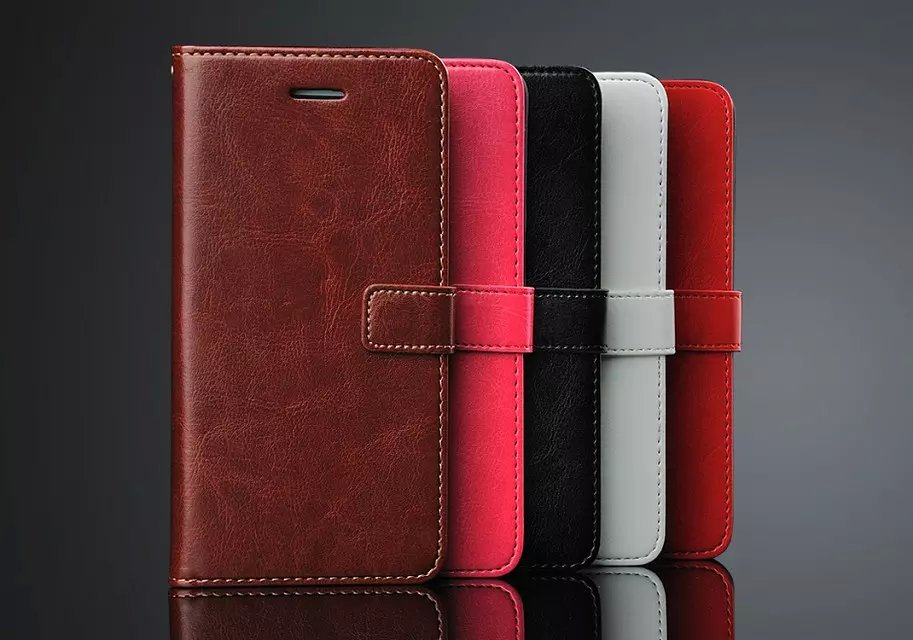 Luxury Business Style Stand Wallet Cases For HTC Desire 826/ With Card Slot PU Leather Case