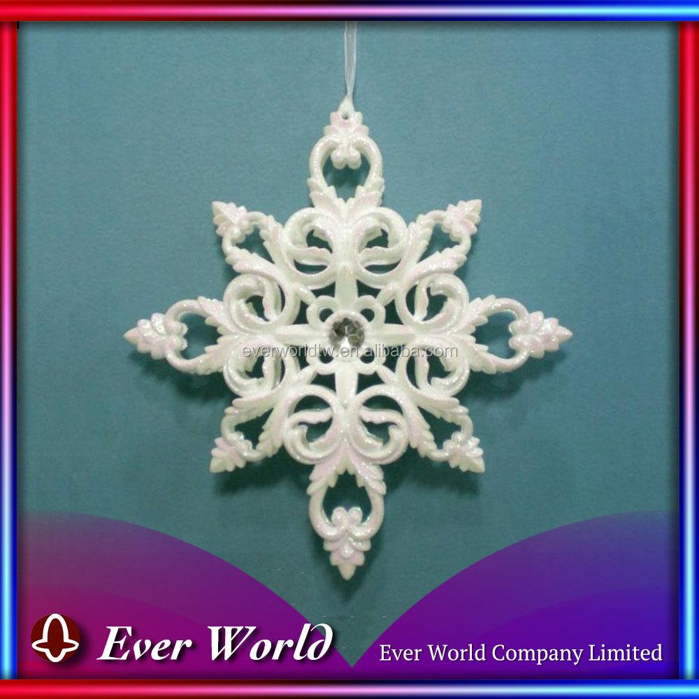 Snowflake christmas ornaments bulk - Large Plastic Snowflake Large Plastic Snowflake Suppliers And Manufacturers At Alibaba Com