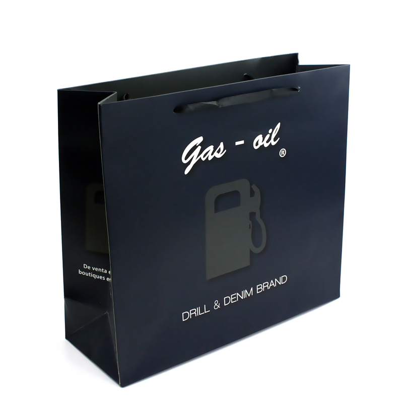 Luxury Top Quality Custom Handle Matte Paper Bags