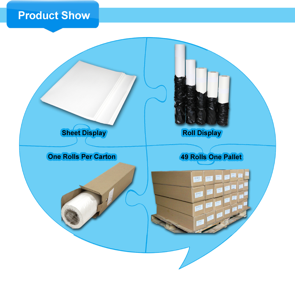 Transfer Paper for Light Colour Textile