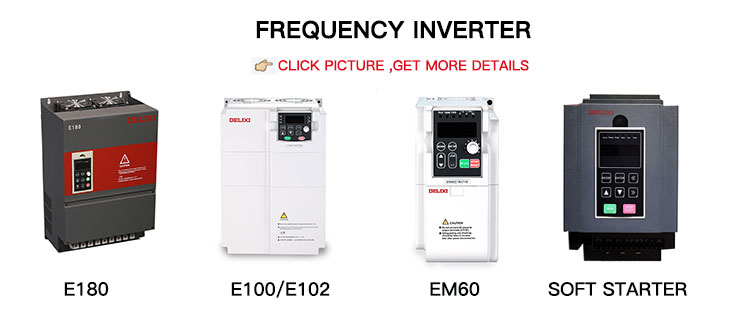 DELIXI E100 E102 1 fase ingang 1 fase uitgang 0.4-2.2KW vfd ac Frequentieomvormer 10kw omvormer