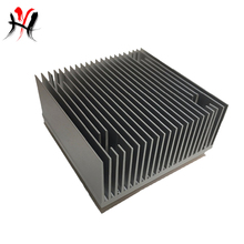 ISO certified popular multi purpose compact anodized heatsink 60mm