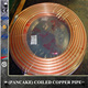 copper tube coil pancake copper coil