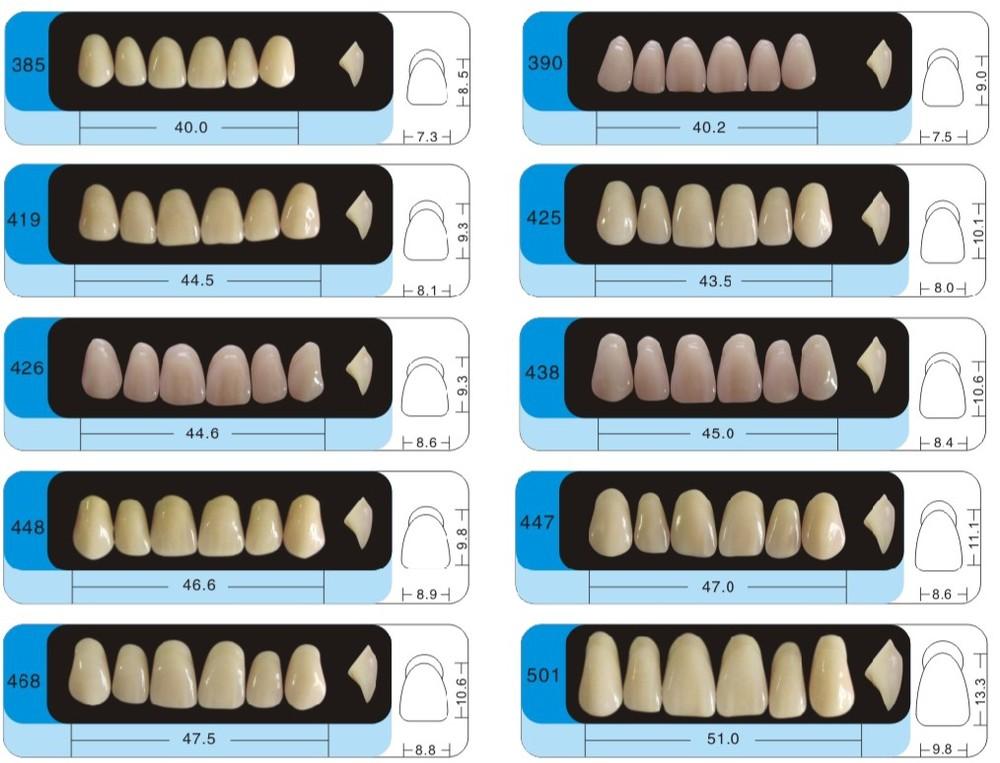 Factory Dental Acrylic Resin Teeth/denture Acrylic Teeth With Ce ...