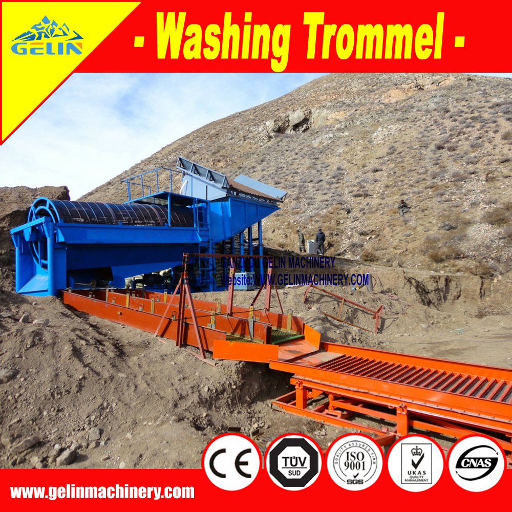 Gold Rush Mat widely used in gold tailing wash plant