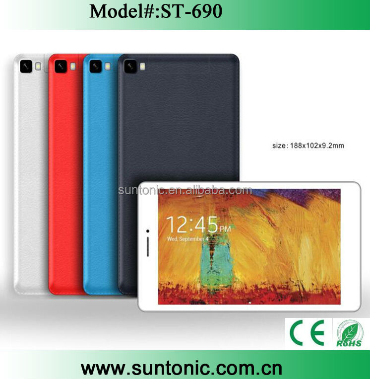 7 inch 3g tablet pc MTK8312 with dual sim card slot and GPS