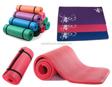 Colorful High Quality Pilates and High Density NBR Yoga Mat