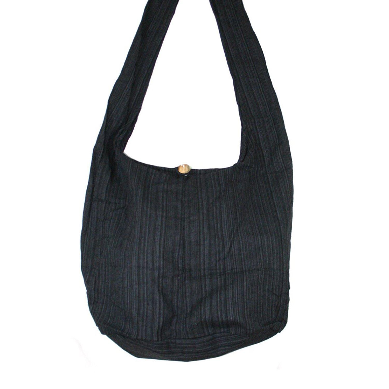 28aa1da12984 Tonka Cotton Vertical Line Boho Crossbody bags Shoulder Bags Messenger Bags  Hobo Bags Hippie Bag Purse