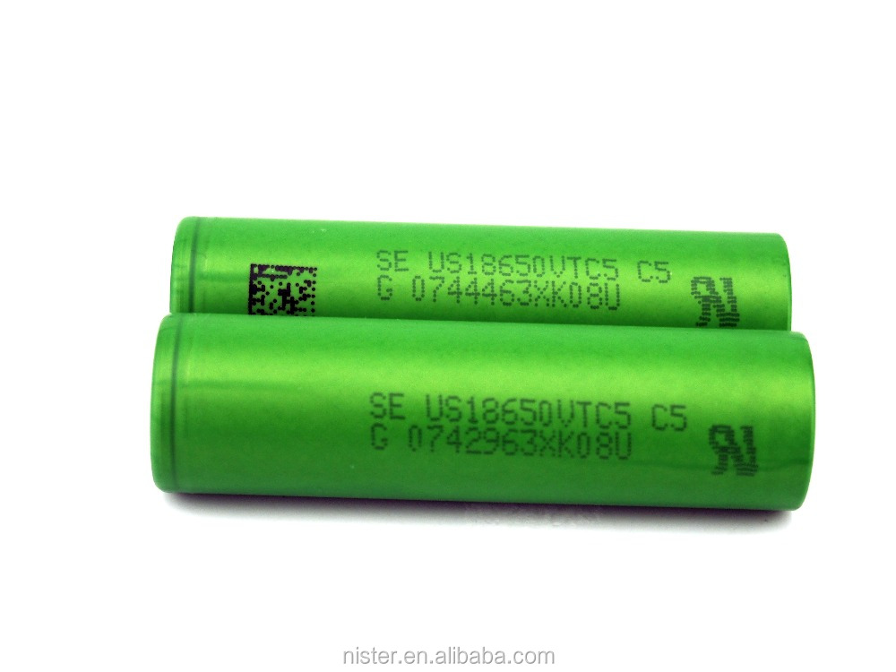 High quality hot sale se us18650vt battery for flashlight/vapes vtc5 18650 rechargeable lithium ion battery