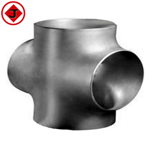 high pressure asme B16.9 a234 carbon steel tee and cross