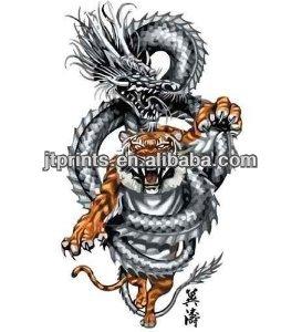 Download Gambar Tato Harimau Printablehd