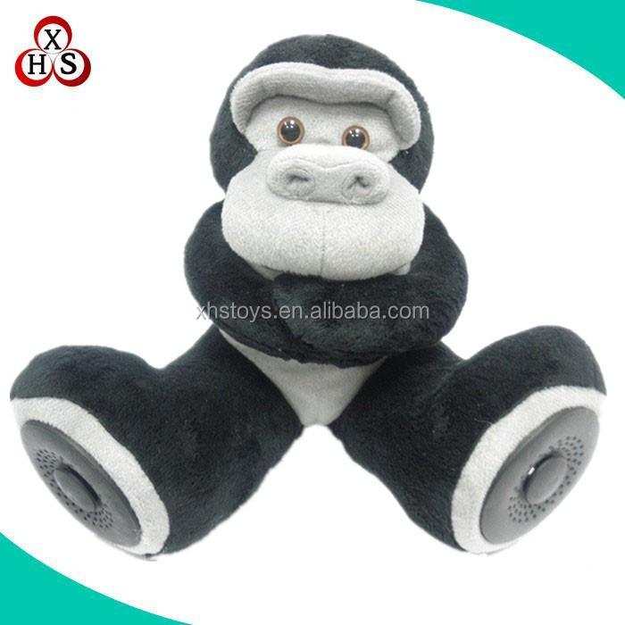 Gestopft Roten Affe Spielzeug Socke Affe Stofftier Plüsch Weißen ...
