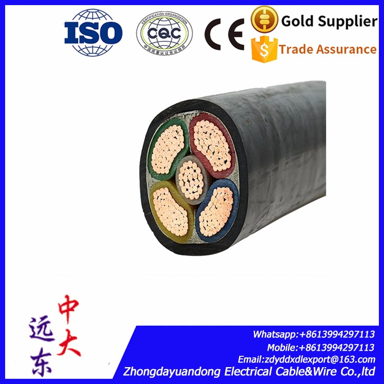 MV Power cable 35mm2 copper XLPE insulated PVC sheathed electrical cable wire YJV copper cable