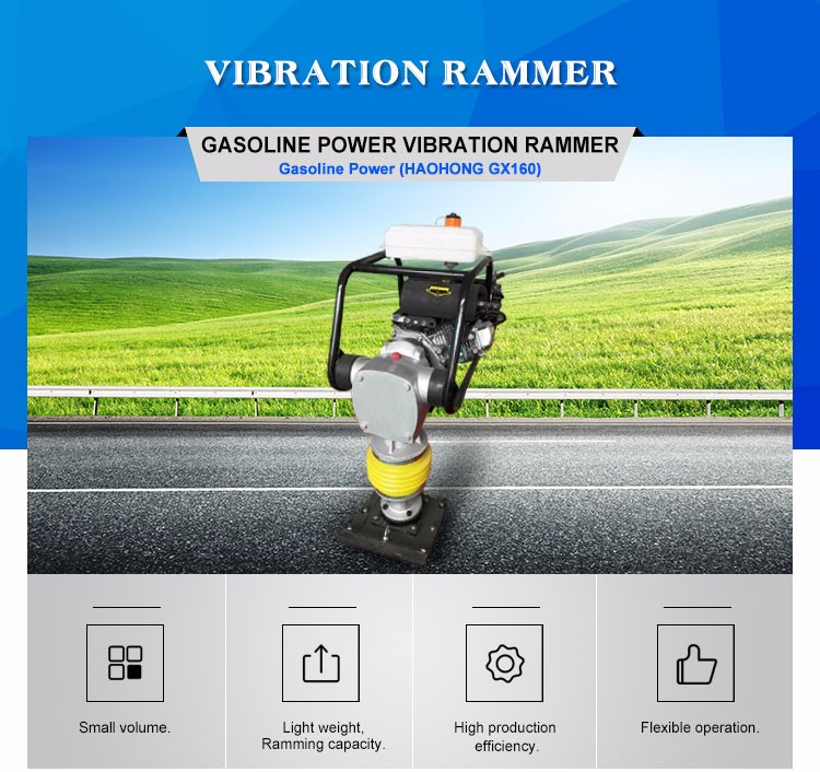 HONDA gasoline power earth sand soil wacker impact jumping jack multiquip compactor tamper vibrating tamping rammer