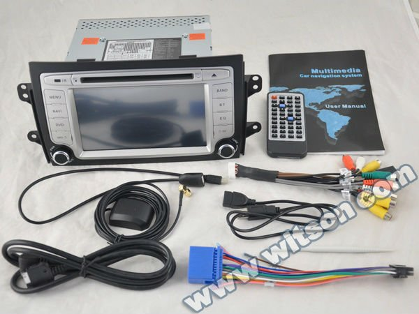 WITSON SUZUKI SX4 CAR GPS RECEIVER with ISDB-T Tuner (Optional)