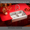 Quartz composite granite kitchen sink