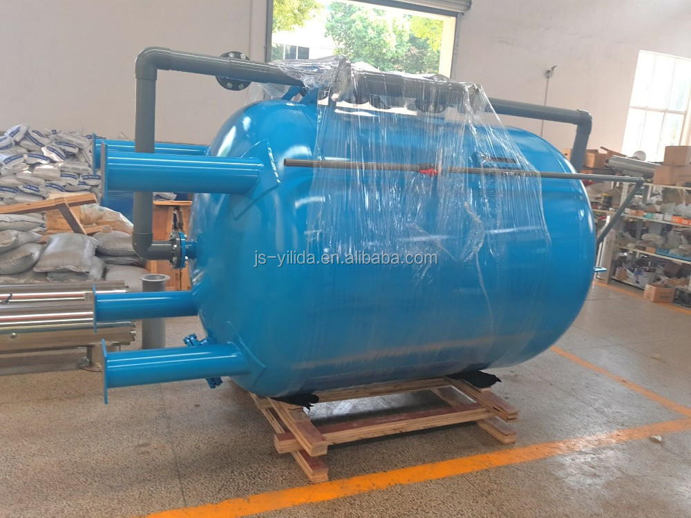 carbon steel sand filter  multimedia filter  pressure filter