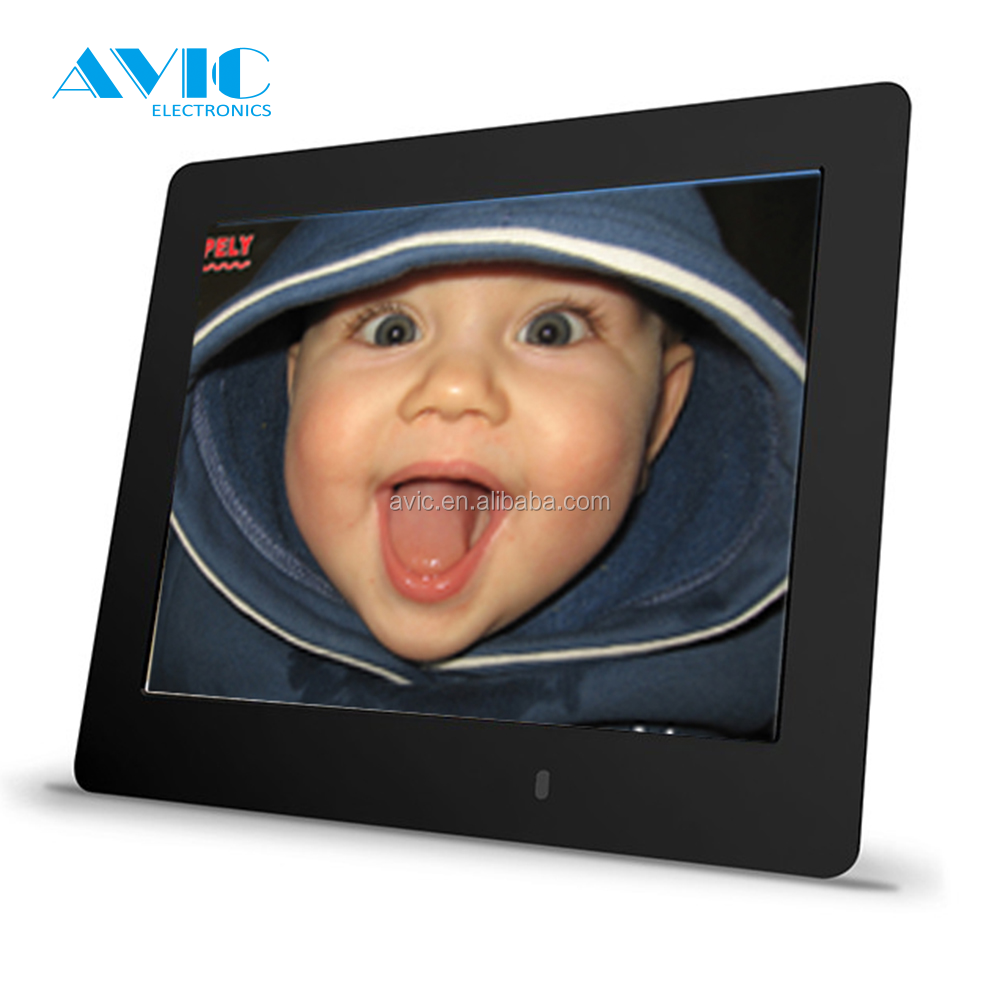 MP3/MP4 Player + SD Card digital photo frmae album picture display 11.6 inch White LCD Digital frame