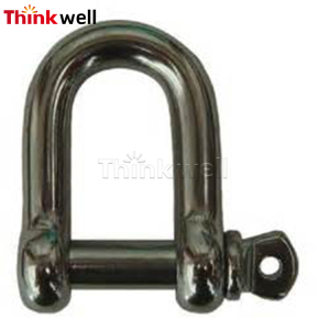 Galvanized European Type Free Forged D Shackle