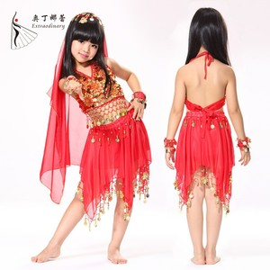 TWK00818 Belly Dance Performance cheap indian children belly dance costumes