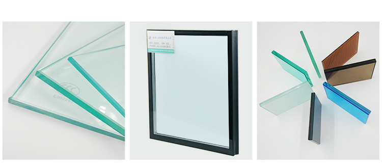 48 x 48 aluminium profile framed casement window with tinted glass