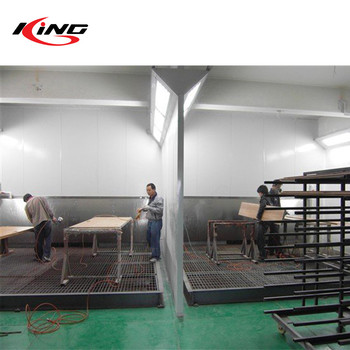KX-4100B furniture paint booth