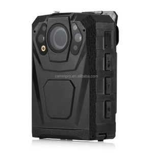 Wild angle 32GB/64GB storage 1296P HD video body-worn camera build-in WIFI/GPS (Optional) IR night vision police body camera