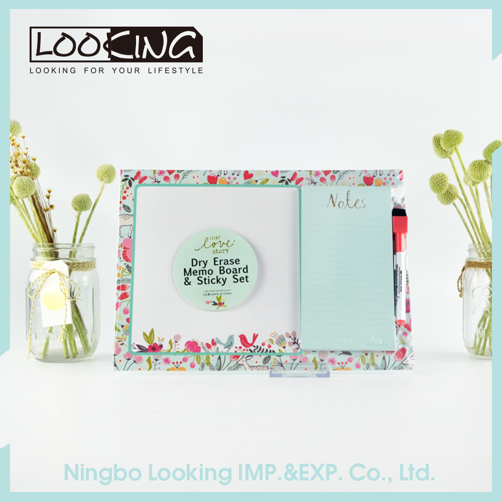 LOOKING Lovely Custom Memo Pads Combo Set