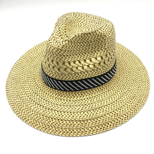 Cheap Summer Billycock promotional straw hat for mens