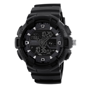s shock watch skmei model 1189 very hot selling in the market with dual time zone for man