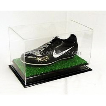 High Quality Rectangle Acrylic Sports Shoes Display Boxes