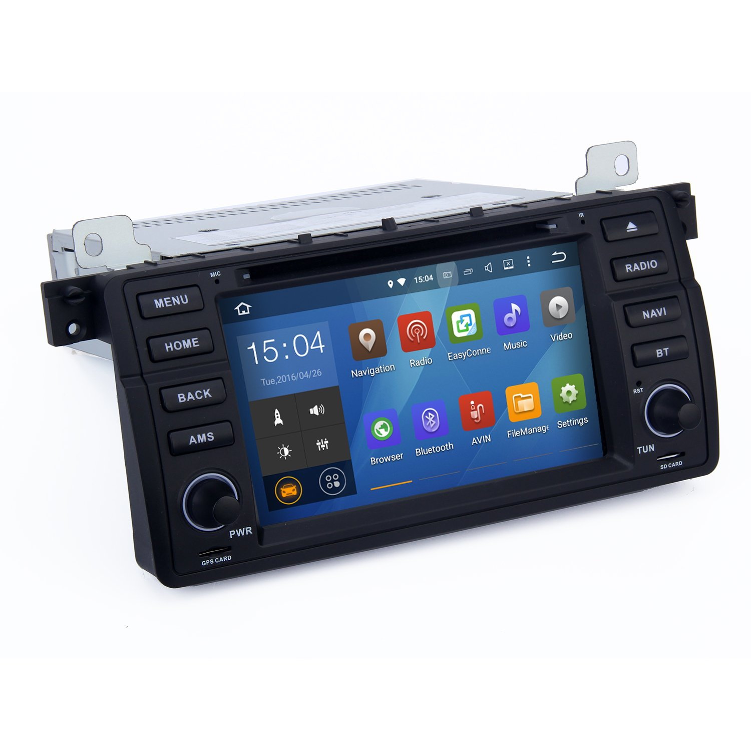 Cheap Car Stereo Android For Bmw E87 Find 328i Double Din Get Quotations Sygav 511 Lollipop Cd Dvd Player E46 M3 318i