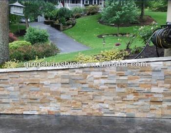 Stacked Stone Fence Wall Veneer Buy Exterior Wall Stone Veneer Wall Cap Cul