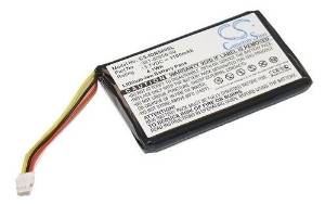 Battery for Garmin Nuvi 30 40 40LM 50 50LM 1100 mAh 361-00056-00 GPS Replacement