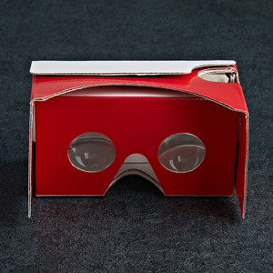 Factory direct sale 3d vr cardboard glasses vr google with acrylic lens