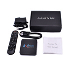 2019 Cheapest 4GB Android 9.0 TV Box S96 Max 4K Satellite Receiver Internet Pro