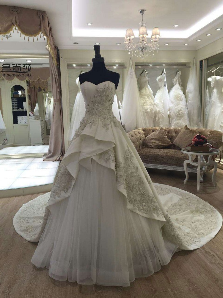 2016 ball gown julie vino wedding dresses chapel train