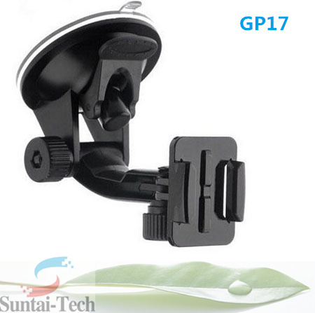 Accessories for gopro Car Window Windshield Glass Suction Cup Mount for GoPro Hero 4 3 2 HD Camera GP17