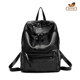 Guangzhou factory high quality leather travelling backpack leisure school bags backpack