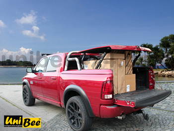 Bed Cover Unibee With Styling Bar For Ram 1500 Buy Fiberglass