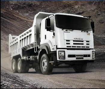 25 Ton Heavy Duty Dump Truck With WD615.69 336HP Engine