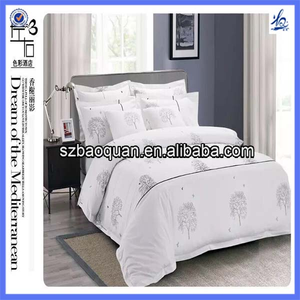 printed bed sheet/flower design bed sheet/digital printed bed sheet