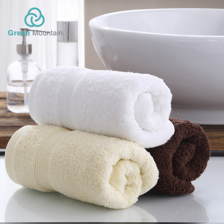Green Mountain cotton face 100% cotton bath towel