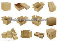 Wholesales competitive hot selling and popular corrugated paper box