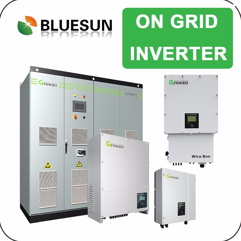 Bluesun solar inverter without battery on grid off grid hybrid