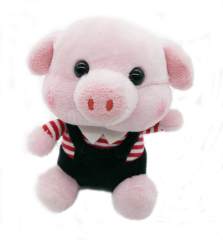 Stuffed Plush Cute Pink Pig Toy Cartoon Animal Buy Stuffed Plush
