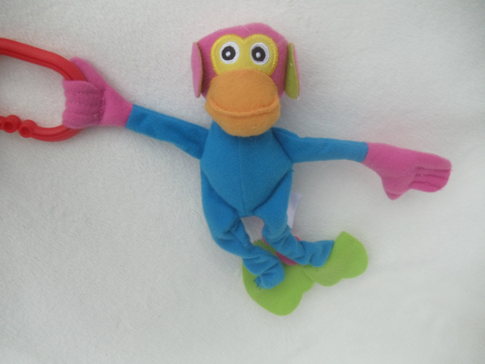 1pc Foreign Trade Original Love Soft Plush Monkey Baby Toys Rattles