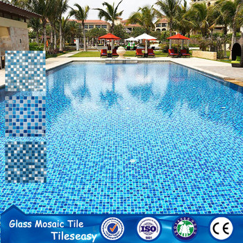 Cost To Design Hotel Swimming Pool Tile Glass Mosaics - Buy Glass