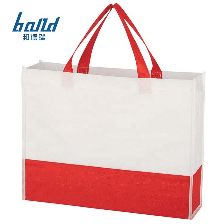 Logo réutilisable tissé par pp stratifié imprimé sac de ciment tissé par pp tissu pour sacs