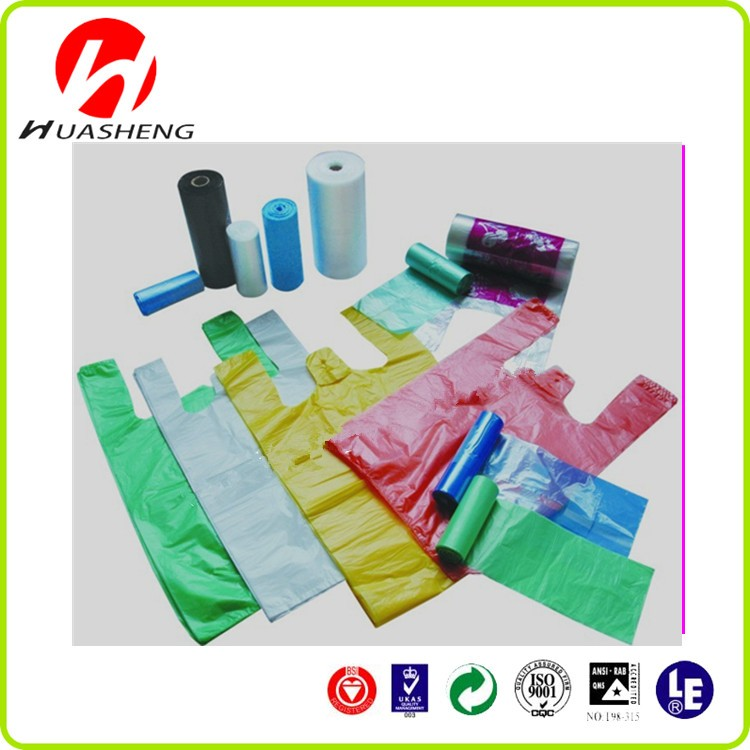 Thank You T Shirt Bags Wholesale Shopping Plastic Bags